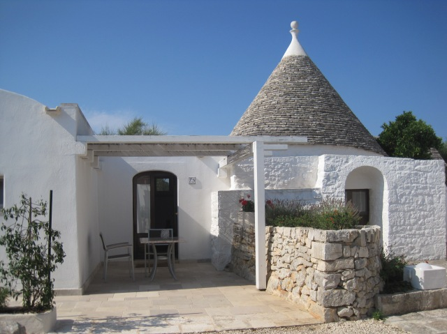 Our trullo, bedroom end