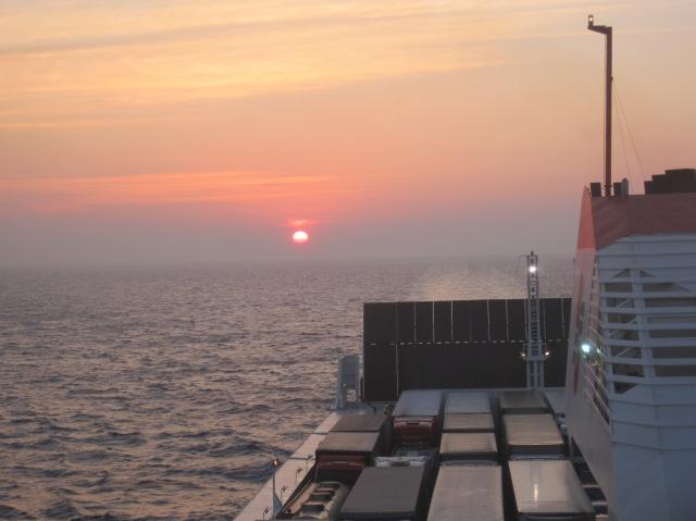 Sunset on the Ionia Sea