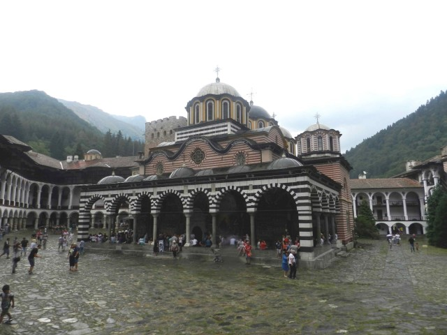 Church at the Rila Monastery
