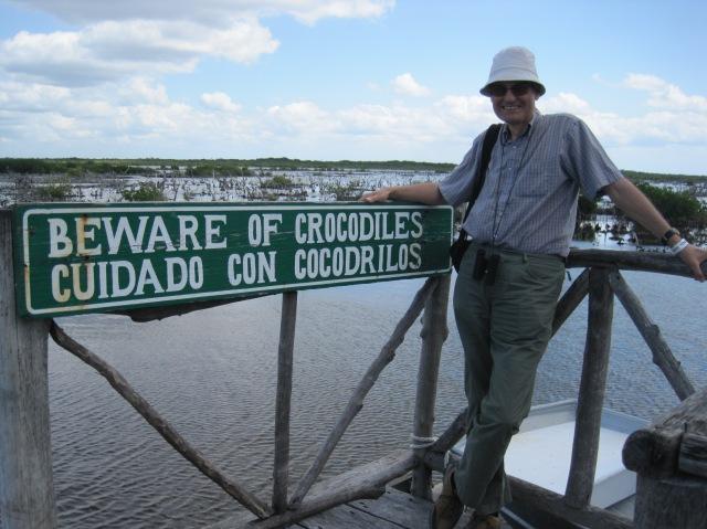 Where are the crocs? Parque Punta Sur, Cozumel