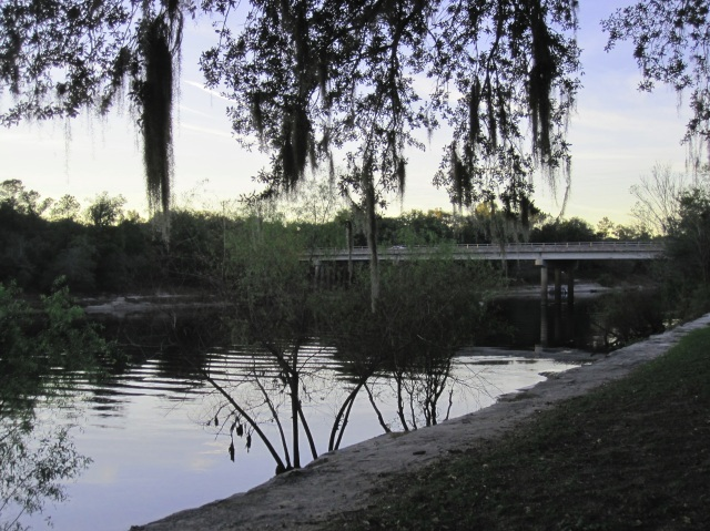 "Rest stop, ""Down by the Suwanee River"", Branford, Florida"