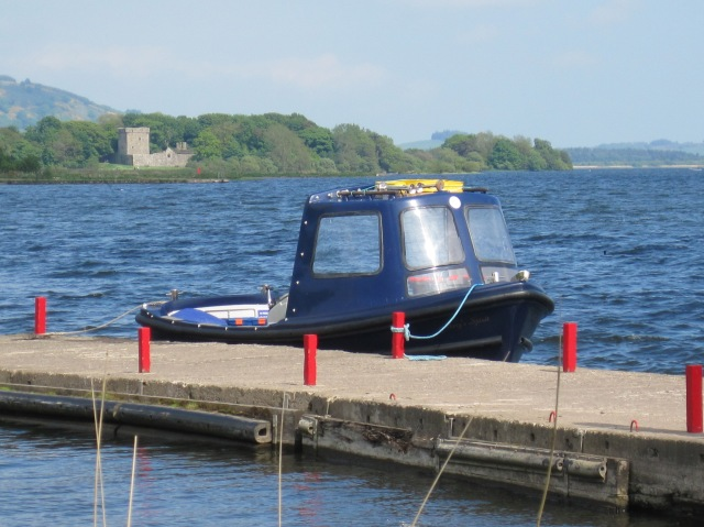 "The ""wee boat"" to Lochleven Castle"