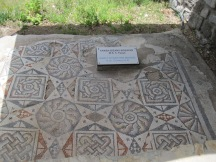 5th c mosaic in Bodrum Castle