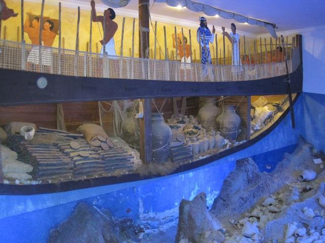 Underwater archaeology in Bodrum Castle