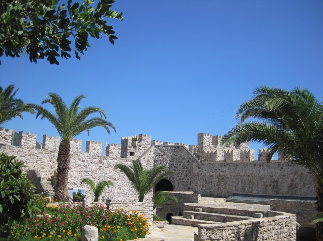 The castle at Marmaris