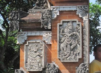 A gateway at the Lingsar Temple, Lombok