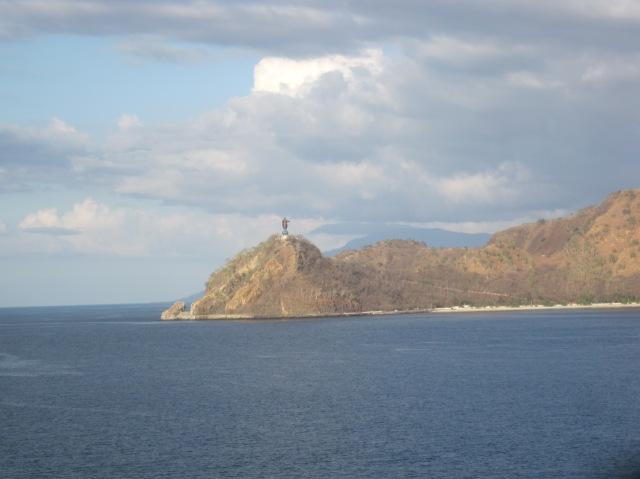 Cristo Rei as we left Dili