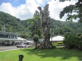 Outside the museum, Pago Pago