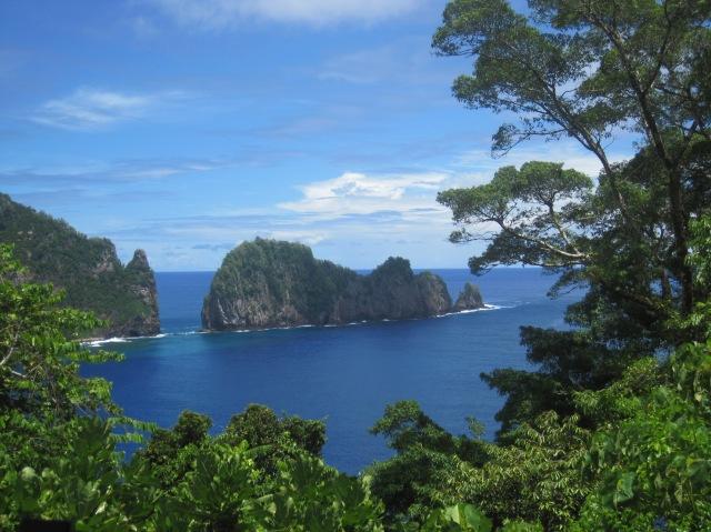 View, American Samoa