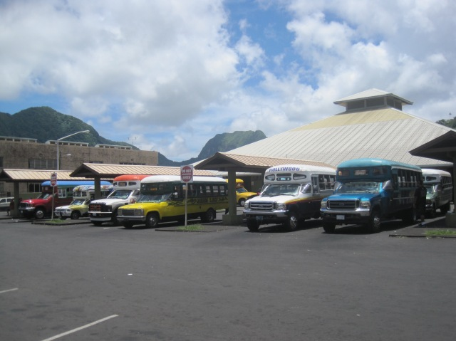 Bus station, Pago Pago