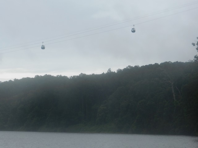 On the boat trip at Kuranda