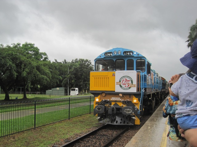 Kuranda Scenic Railway arriving at Freshwater Station