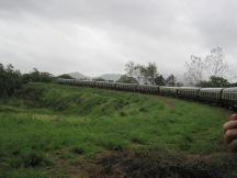 Kuranda Scenic Railway - a long train