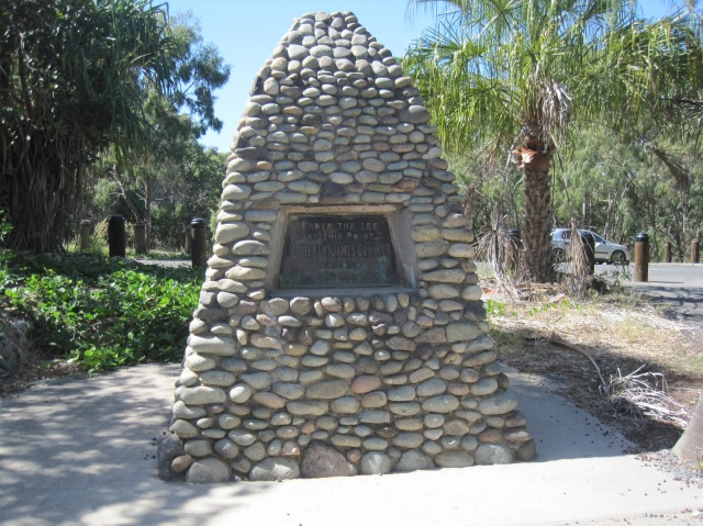 Captain Cook's landing place at 1770