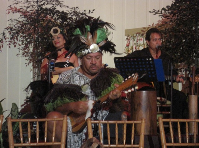 Music at the Luau, Kilohani, Kauai