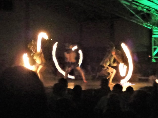 Firedancers at the Luau, Kilohani, Kauai