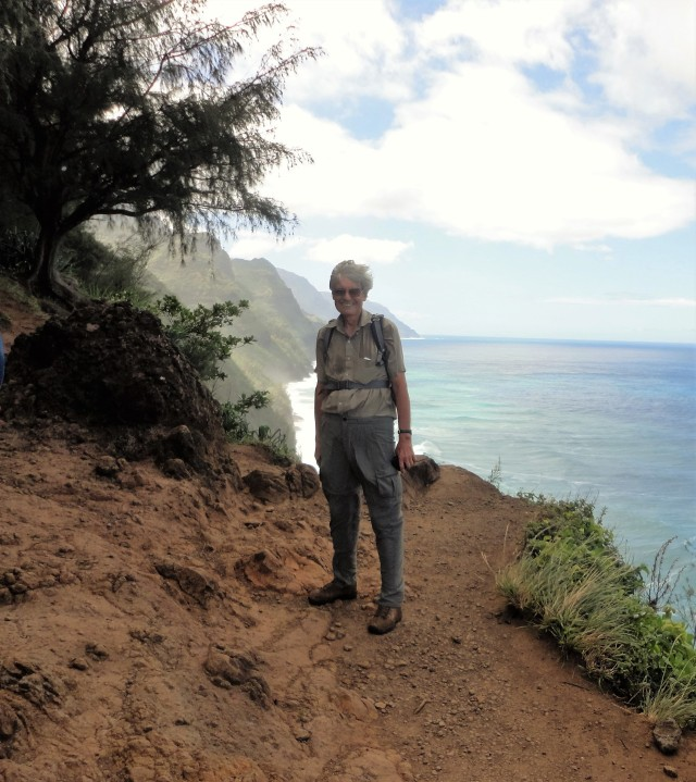On the Kalalau Trail, Na Pali Coast,  Kauai