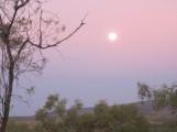 Moon rise at Mt Hart
