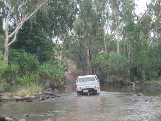 The road to El Questro