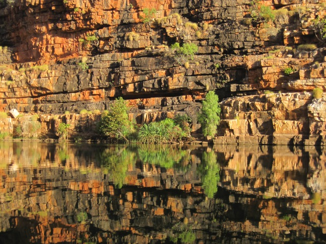 Reflections in Chanberlain Gorge