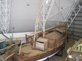 Ship in Darwin museum
