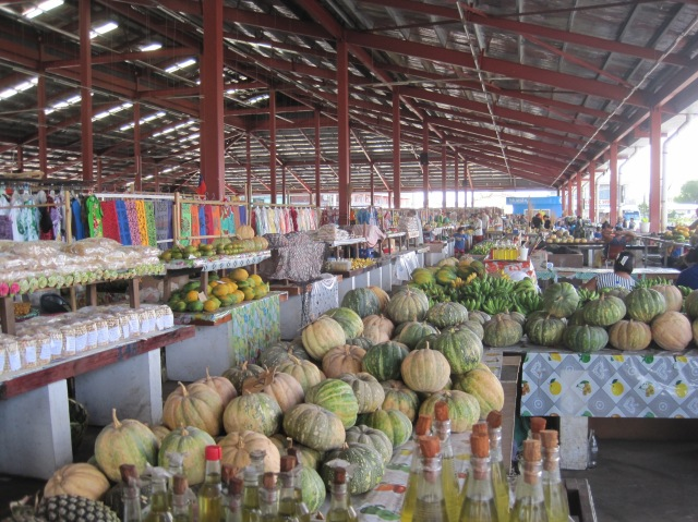 Market at Apia