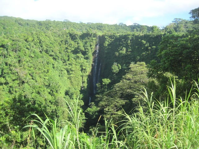Papapapai-tai Falls, Upolu, Samoa