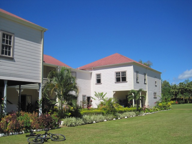 R L  Stevenson Museum, near Apia, Samoa