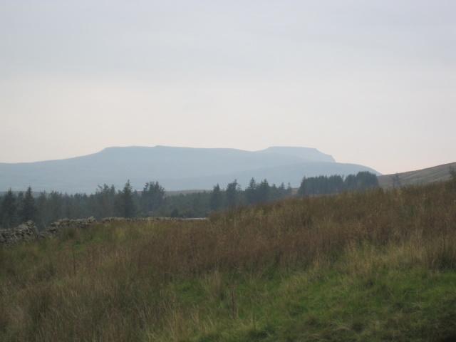 Ingleborough in the far distance