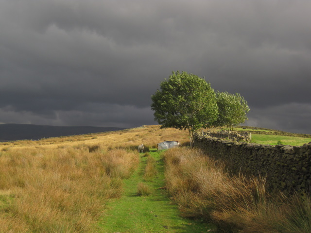 Storm coming near Sedbergh, but it missed us