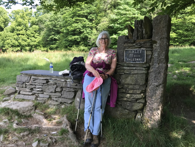 End of the Dales Way