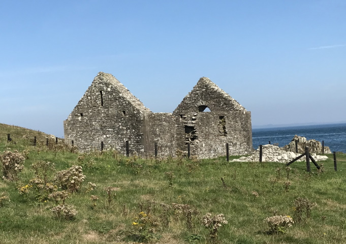 St Ninian's Chapel, Isle of Whithorn