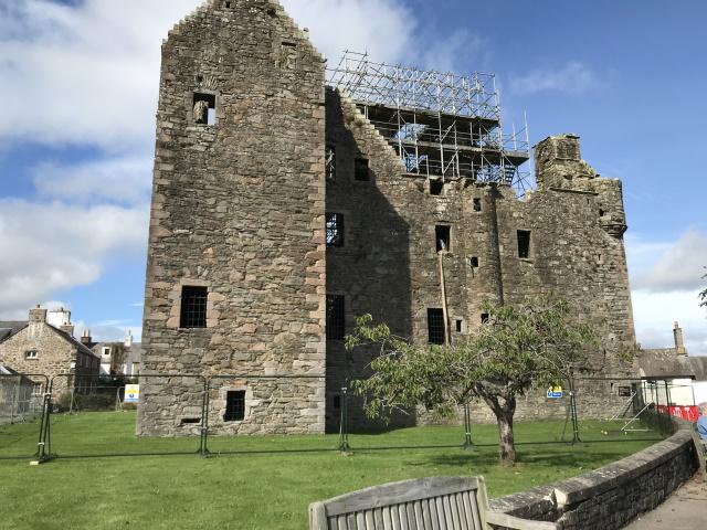 MacLellan Castle, Kirkcudbright